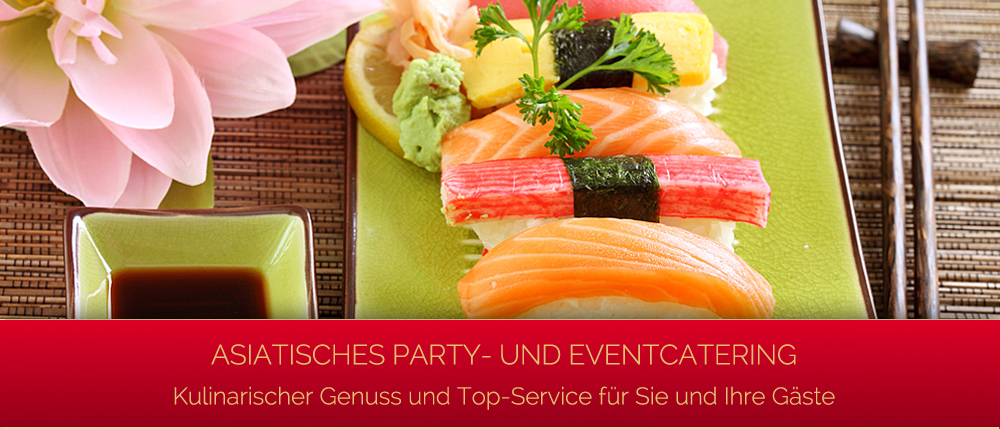 Singapur Partyservice - Asiatisches Party- und Event Catering