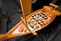 Partycatering - Sushiboot - Sushi Schiff